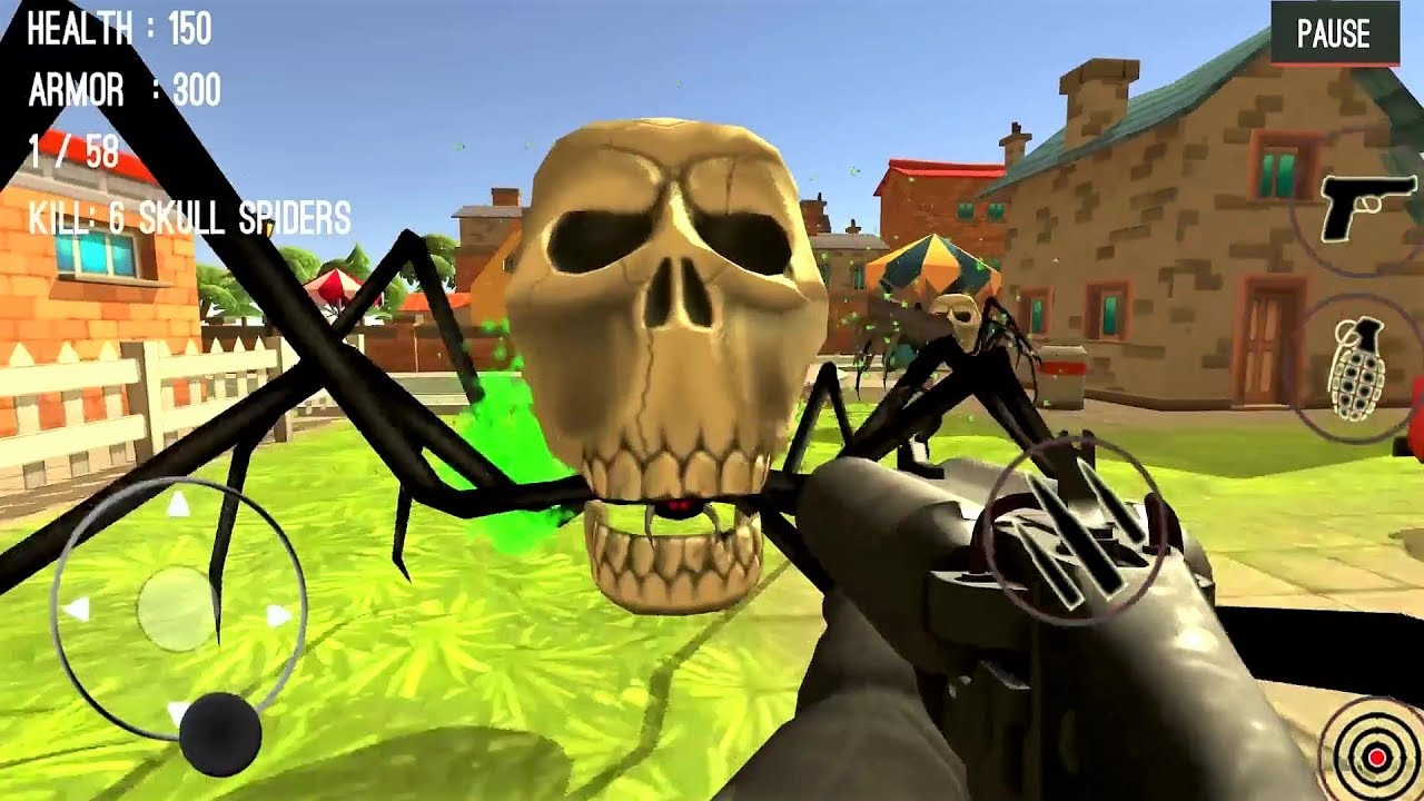 Spider Hunter Amazing City 3D Android Gameplay #13