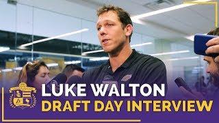 Luke Walton Reacts To Lakers 2018 NBA Draft Picks