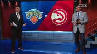 Wally Wall: Noah Vonleh's Shooting Stretches The Floor | MSG Networks