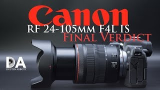 Canon RF 24-105mm F4L IS: Final Review | 4K