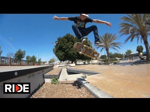 Danny Gordon at Harvard Park -  Skatepark Check