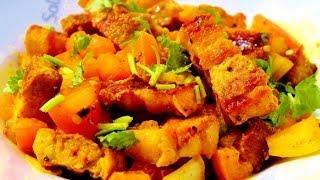 Pork Choila / Spicy Pork - Nepali Style - Newari Food Recipe!