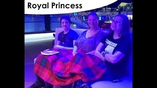 Evening Entertainment & Exploring the Ship • Night 1 • Royal Princess Cruise Vlog [ep7]
