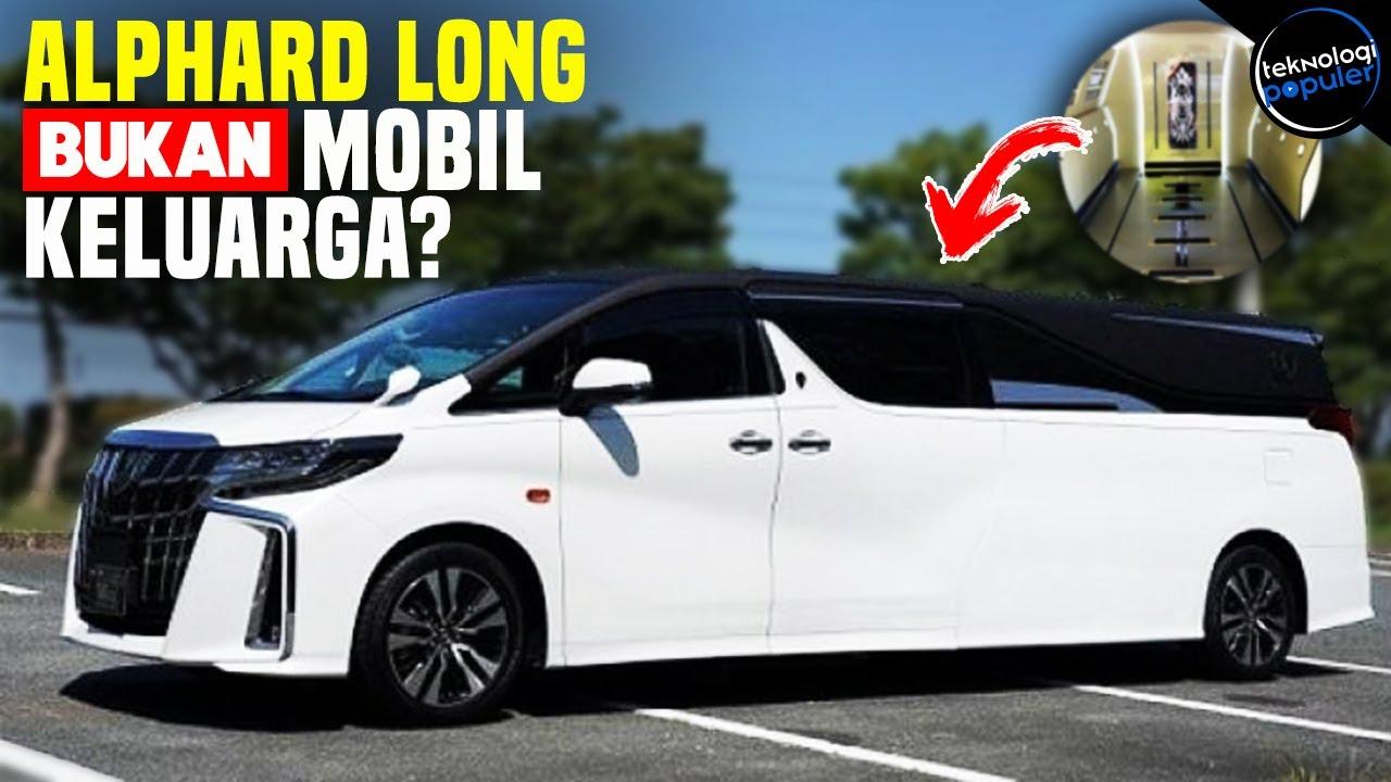 Awesome Modifikasi Toyota Alphard Limo Super Mewah Ternyata Isi Dalamnya Youtube