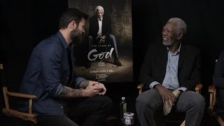 Arie Boomsma Interviewt Morgan Freeman - Rtl Late Night