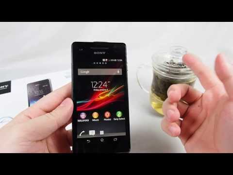 Sony Xperia V Unboxing