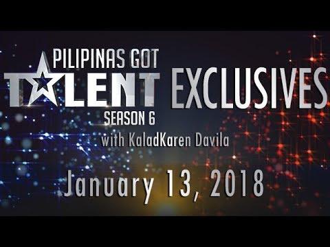 Pilipinas Got Talent Season 6 Online - January 13, 2018