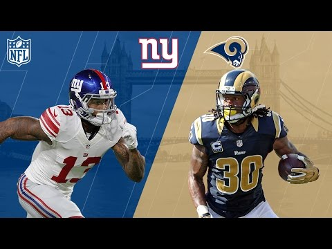 Giants vs. Rams Trailer (Week 7) | NFL in London