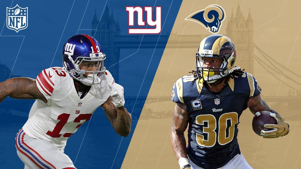 Image result for Rams vs Giants Live pic logo