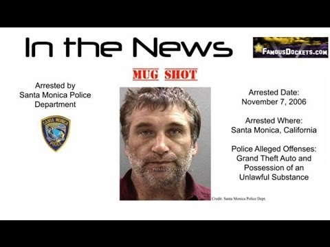 Daniel Baldwin Arrested