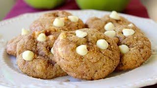 How To Make Apple Pie Cookies (apple, Cinnamon, White Chocolate Cookies)