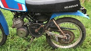 uzun süre çalışmayan motosiklet nasıl çalıştırılır ? #1