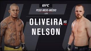 GAME UFC: Oliveira x Nelson | Aubin-Mercier x Burns