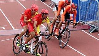 Minuto paralímpico - Cto. Mundo Ciclismo Ruta