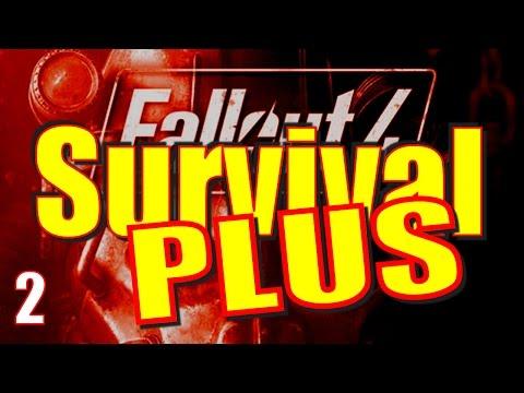 Fallout 4 Survival Mode Walkthrough Part 2 - Concord to the Cambridge Cop Shop