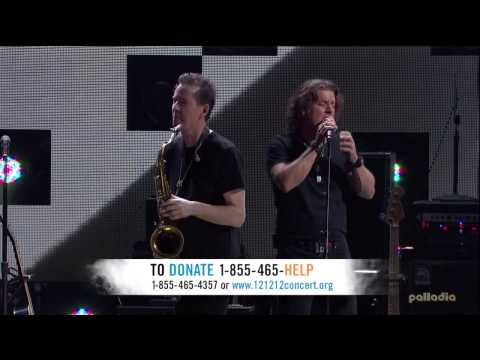 12-12-12 The Concert For Sandy Relief Parte 1