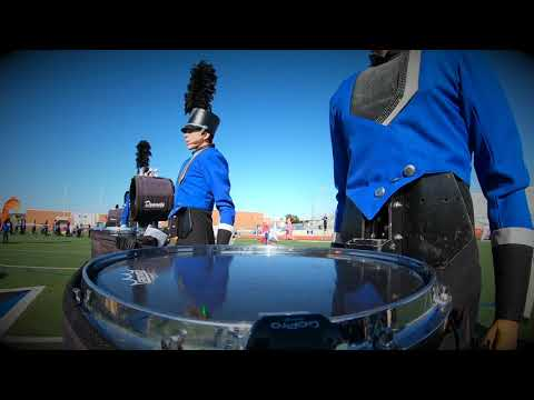 Hebron High School Band 2019 Snare Cam - AMONG THE STARS