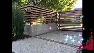 Best Wooden Fence Ideas, Wooden Fence Ideas For Beautiful Home, Exterior Backyard Design Ideas #2