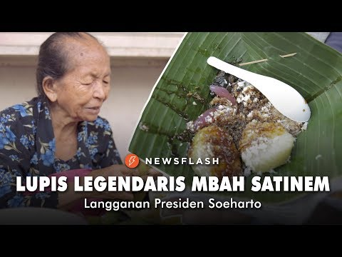 lupis-legendaris-mbah-satinem,-langganan-presiden-soeharto-|-newsflash