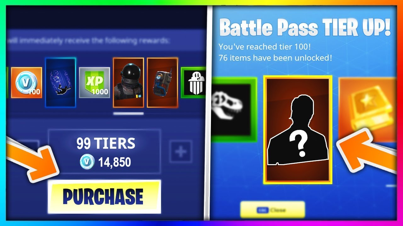 Buying Every Season 3 Battle Pass Tier In Fortnite Battle Royale New Skins Items Showcase