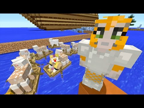 Minecraft Xbox - Ocean Den - Sheep For Days! (25)