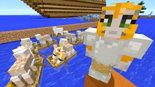 Minecraft Xbox - Ocean Den - Sheep For Days! (25)