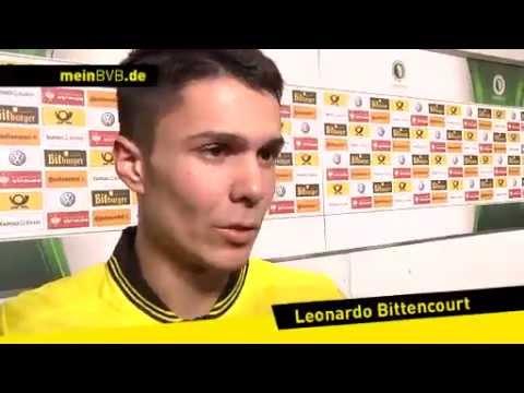 BVB - Hannover 96: Interview mit Leonardo Bittencourt