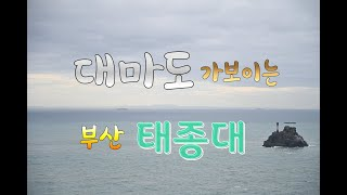 부산 여행코스 태종대~