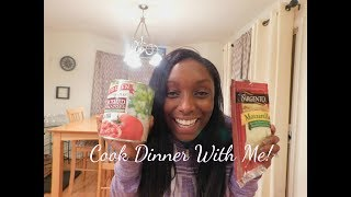 Cook dinner with me! | Easy dinner recipe