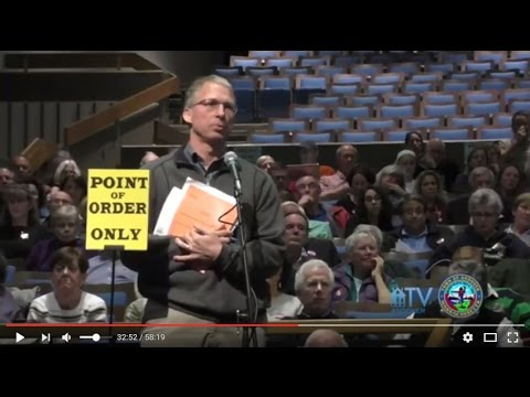 Andover Town Meeting rejects Dog Walking Ban 5/8/2017