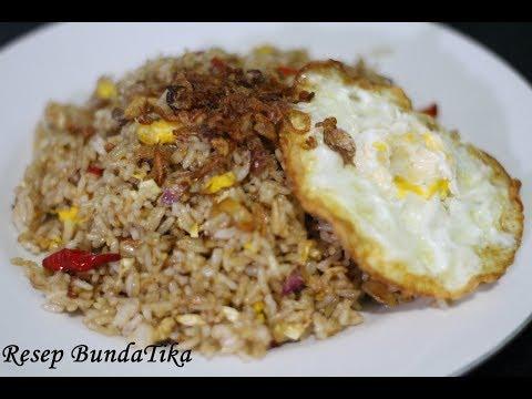 Resepi Nasi Goreng Kampung Mudah | Simple Kampung Fried Rice Recipe.