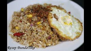 Resep Nasi Goreng Kampung Spesial Super SImple Ala Bunda Tika