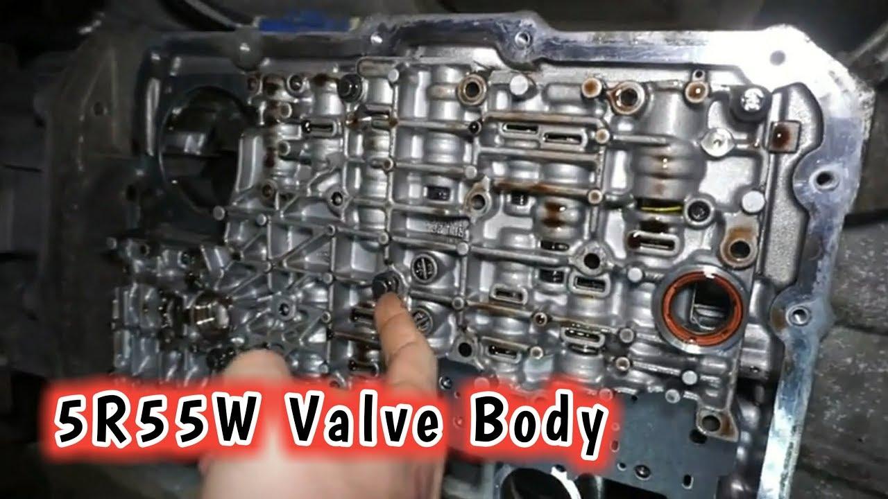 Explorer 5r55w Valve Body and Solenoid Pack Install!!! Transmission Slips  O/D Light Flashing!!!
