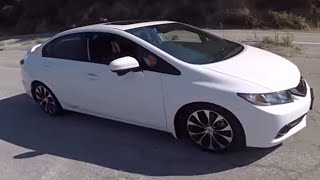 400 HP Comptech Supercharged Honda Civic SI - (Angeles Forest Hwy) One Take