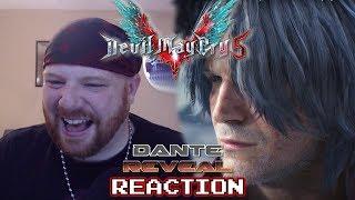 KRIMSON KB REACTS: DMC 5 Dante Reveal Trailer! - Gamescom 2018