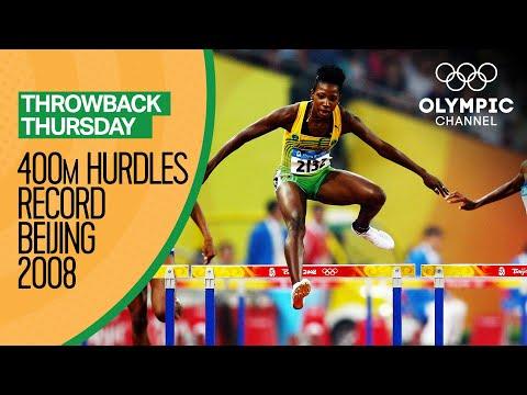 Melaine Walker's 400m hurdles Olympic record | Throwback Thursday