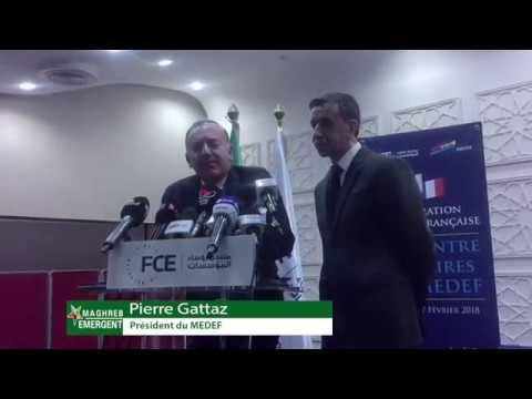 Investissement en Algérie: les quatre obstacles relevés par le président du MEDEF