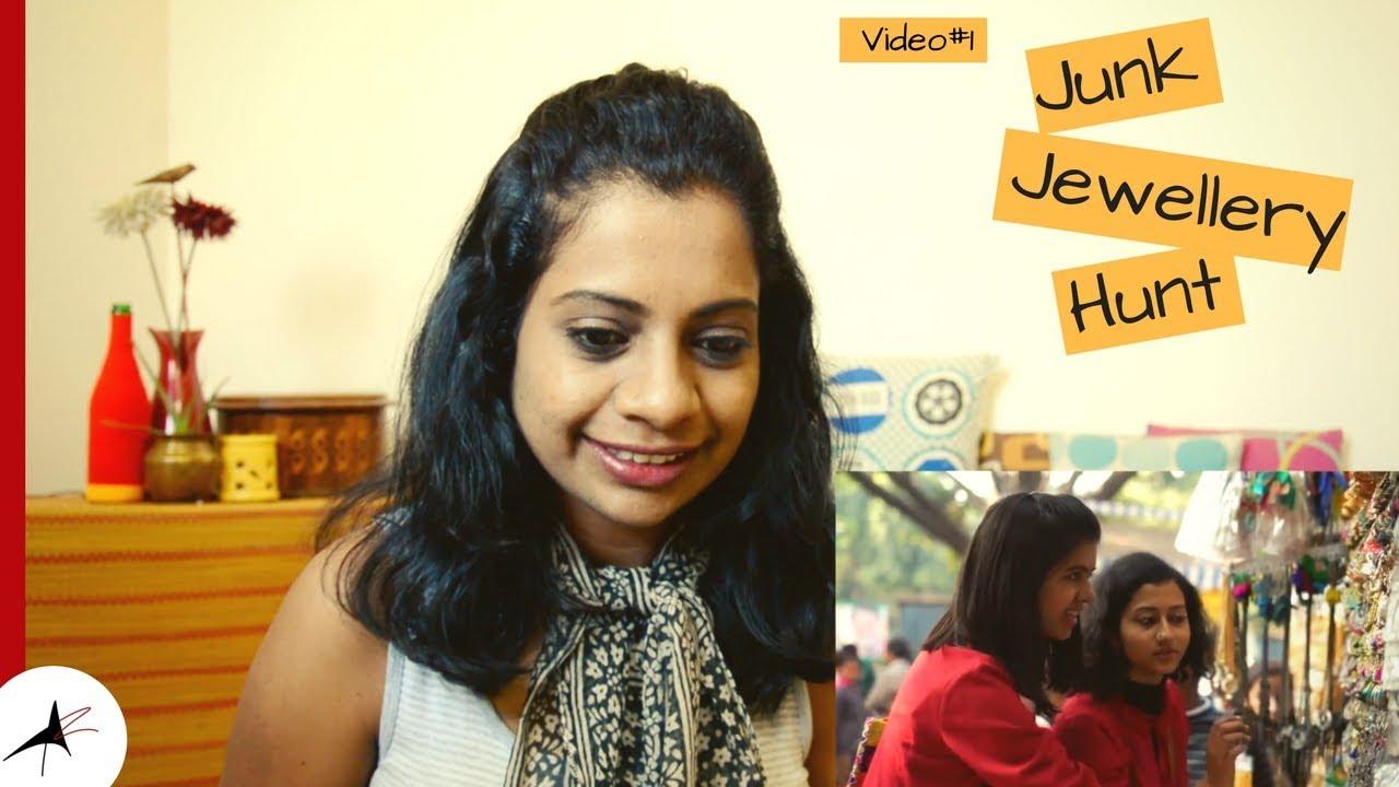 Sejal Kumar Finding The Best Junk Jewellery Reaction Video#1| Arpitharai