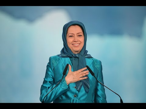 Maryam Rajavi in the grand gathering of Free Iran- paris, July 1,2017