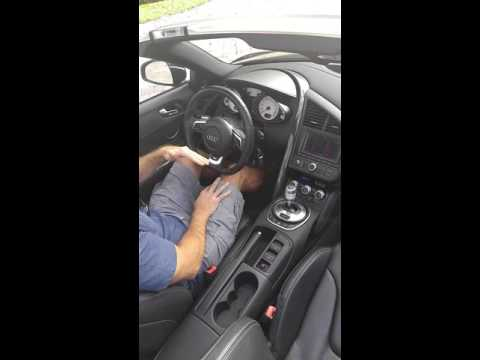 2012 Audi R8 Spyder V10 how to drive
