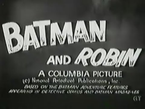 """Batman and Robin"" Movie Serial Trailer (1966)"