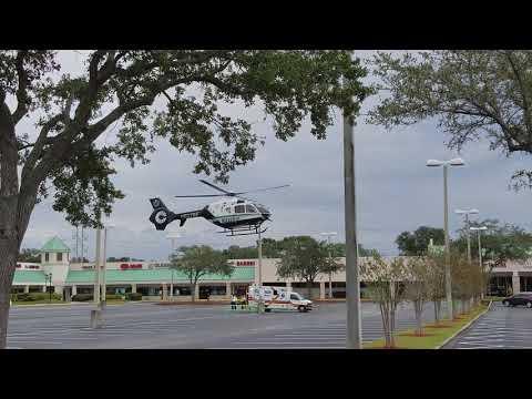 Bayflite N527BF Responding to a trauma alert in Palm Harbor FL 4k