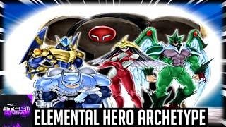 Yugioh Trivia: The Elemental HERO Archetype