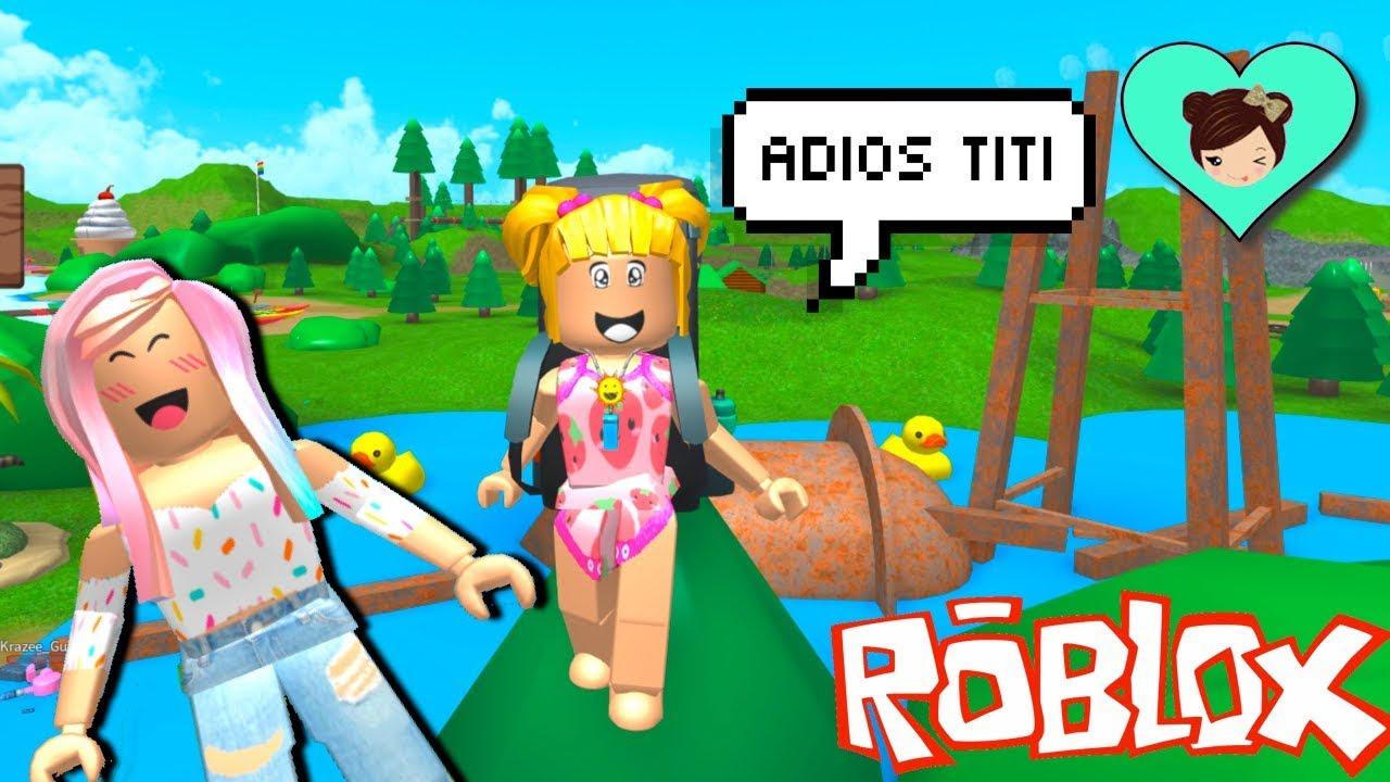 Bebe Goldie Se Pierde En El Campamento De Verano En Roblox Titi