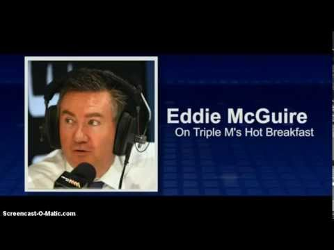 Eddie McGuire makes on-air gaffe linking Adam Goodes to King Kong musical