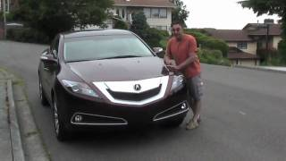 2010 Acura ZDX. Auto Reviews with Mike West for Pacific Northwest's Automotive Marketplace