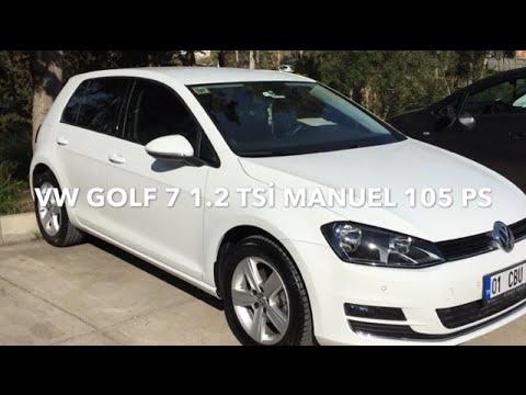 volkswagen golf 1.2 tsİ manuel 105 ps test - youtube