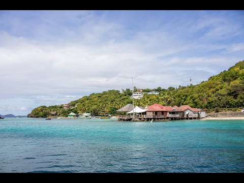 MUSTIQUE BOAT TRIP! St. Vincent and the Grenadines -  Ricky's Random Adventures S.2E.2