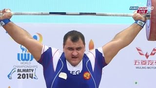2014 World Weightlifting Championships, Men +105 kg (Snatch) \ Тяжелая Атлетика. Чемпионат Мира