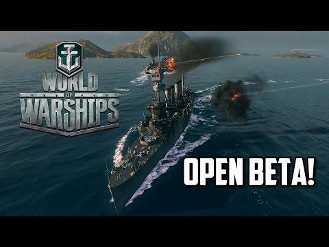 World Of Warships - Open Beta!